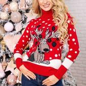 Новогодние свитера женские, унисекс и мужские.Поспешите, быстро разбирают!