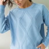 Стильные джемпера, свитера Оверсайз с замерами.