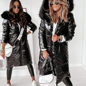 Куртка зимняя. Зима 2021. Большие розмера до 56.