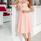 Сукні у розовому і пудровому тонах