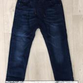 Утепленные плотные джинсы taurus на флисе 116-122р..+Новый сбор!