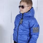 Остатки 122,128,140 !!!Крутые деми курточки для самых модных мальчишек!!!
