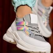 Женские стильные кроссовки всего 230 грн
