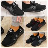 * Модель Унисекс * Стильные текстильные подростковые кроссовки, р.38-42