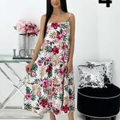 Платье сарафан женское в пол.