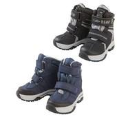 Lupilu Германия Зима 20р,21р.22р термо ботинки для малышей на липучках, оригинал