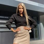 Костюм 2 ка рубашка +юбка