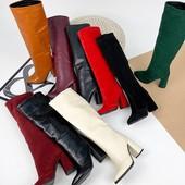 Натуральная обувь! Сапожки и ботинки!!! В наличии и под заказ!!! Количество товара ограничено!!!