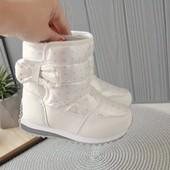 Акция на складе!!! 28-33р. Зимние дутики, сапожки, ботинки для девички чобітки